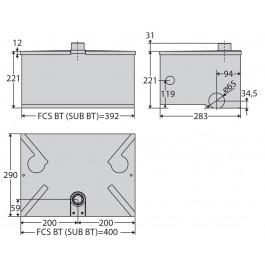 BFT FCS BT Foundation Box Sub BT - N733480 00001