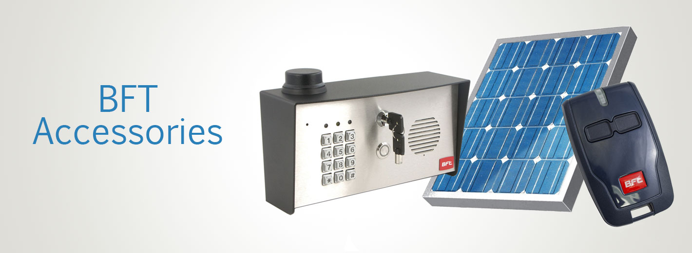 BFT Gate Openers and Access Controls | BFT Gate Openers