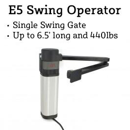 BFT E5 120v Swing Gate Operator