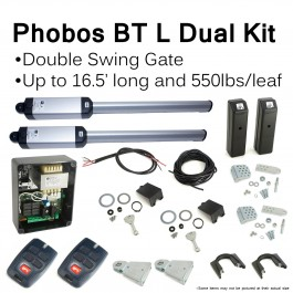 BFT Phobos BT L Dual Swing Gate Operator Kit