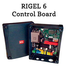 BFT RIGEL 6 Control Unit