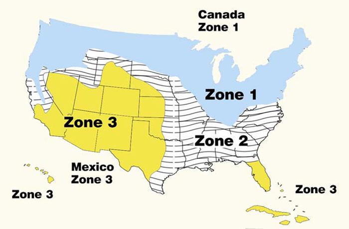 Solar Zones